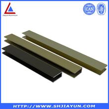 6000 series aluminium shower screen profile from Shanghai Jiayun BV certificated