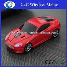 Fashionable optical wireless Racing Car Mouse bule headlight