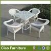 2014 hot selling wicker rattan jardin garden furniture