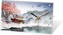 Customized design accepted antique theme desk clock