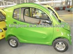 high quality 4 wheel mini electric car, sedan for family
