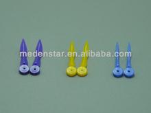 2015 Hot Sale! Dental supply disposable plastic wedges DMZ01-C