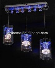 led changeable pendant light for dinning room