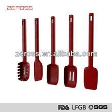 Silicone&Nylon Indian/Japanese Cooking Utensil Set(ZS2014001KU)