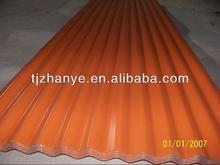 Zinc coating /galvanized corrugated steel roofing sheet