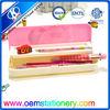 girls pencil case /plastic pen case for kids