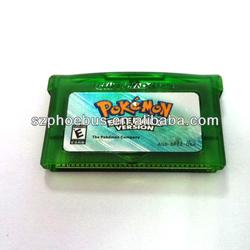 High Quality game card pokemon games pokemon emerald 2014 Newest item
