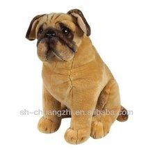 cute Life-Like and Lovable Plush Pug Dog toys