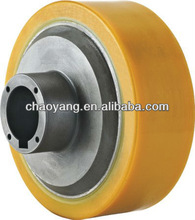 Xinlin pu driving wheel for electric forklift
