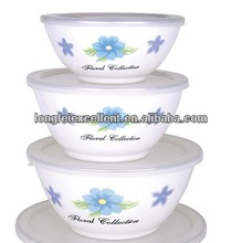 Porcelain household enamel porcelain for food container