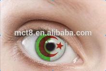 high quality magic eyes world cup crazy contact lens/big eyes cheap crazy contact lens