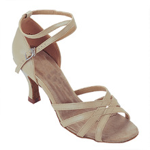 8500037 Ladies Ballroom Satin Latin Dance Shoes