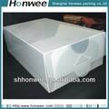 2014 atacado custom de plástico transparente de pvc cosméticos caixa de embalagem do presente
