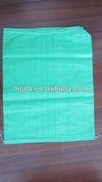 new material green 48*62cm pp woven gravel bags