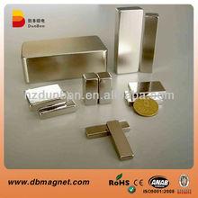Top Quality Permanent block neodymium magnet