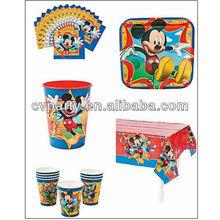 boys Mickey birthday party themes