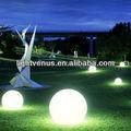 la decoración de halloween solar resistente al agua led bola con la luz