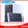 5.7 inch FHD IPS Retina Capacitive Screen 2GB RAM 16GB ROM octa mtk6592 android phone