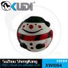 Christmas snowman dog vinyl squeaky ball toy XWI004