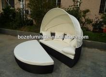 round sun bed / Patio leisure lounge