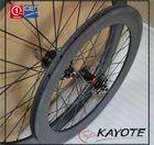 BMX 50C(451 wheels) with Depth 50mm carbon rim china OEM high quality clincher Carbon BMX wheels for bmx bike