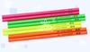 Wood Pencil in Fluorescent Color, Fluorescent Pencil