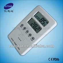 Digitale termometro interno ed esterno di temperatura/igrometro