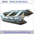 Alu/madeira piso inflável barco de assalto