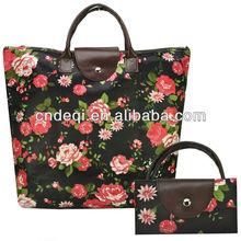New Designer Vintage Floral Large Tote Bag Women Handbags