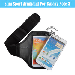 Neoprene Velcro Waterproof Best For Samsung Note3 Armband For Running Sports O6008-123