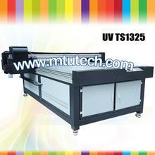 NEW ARRIVAL UV printer m CMYK+W glass/ceramic/metal/PVC/Vinyl LED UV inkjet printer/digital UV flatbed printer (size:1.3m*2.5m)