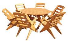 Wooden garden sets - model KO8