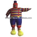 200 cm Alto payaso inflable/bufón/disfraz bufón