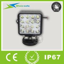 48w 3500 LM super bright cree led light bar,led headlight WI4481