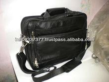 leather laptop massenger bag