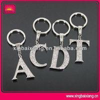 High quality wholesale custom word metal keychain