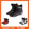 Boots Motorcycle Race Men Motocross Racing Shoes Motorbike Moto Boots A004.10