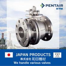 ktm ball valve e0600 , cast iron , ss304 , Pentair , japan
