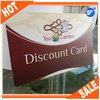 Plastic PVC printing matte black business cards cheap