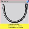 steel/plastic/silicone gooseneck tubes