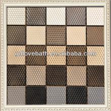 bathroom stainless steel mosaic tile waterproof