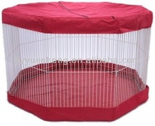 small animal play pen cover pet dog cage crate kennel marshall canopy top tarp