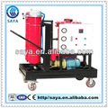 Hidráulico sistema de lubricación de aceite del motor purificador lyc-40 carretilla de mano para la industria del aceite lubricante