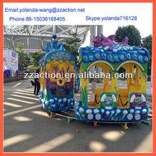 China manfacture theme park ride electric animal kiddie ride,Children rail train