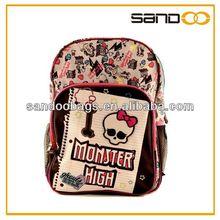 funny monster high school backpack