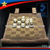 leather chess board set