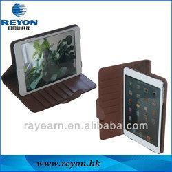 case for mini ipad leather,2014 New for ipad mini case