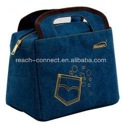 insulated cooler bag fabric soft packing lunch cooler bag bulk cooler bag