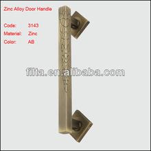 Classic AB Color Door Hardware Handle Antique Zinc Alloy Door Handles