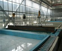 Llave en mano estructura de acero por inmersión en caliente galvanizado planta precio